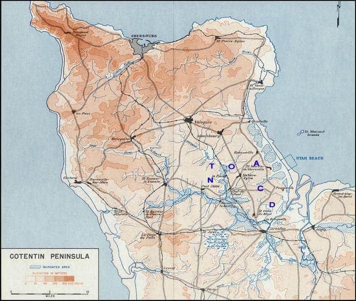 """""""Drop zone"""", les zones d'atterrissages des parachutistes Américains dans le Cotentin"""